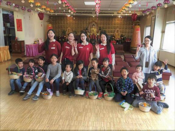 20190407青年團承辦菩提園傳統尋禮品活動後合照-1-1